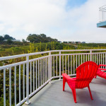Enjoy your private deck